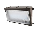 5000K 120-277V 80W Brown Wet Location LED Wall Pack