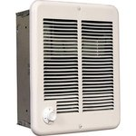 1500W Wall Fan Heater with Thermostat, 120 V