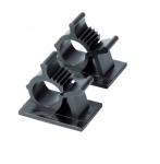 Black Plastic Kwik Clips