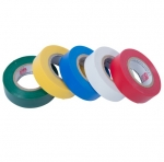 12-Ft Electrical Tape, 5-Piece, Assorted Colors