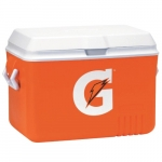 48 Quart Ice Chest, Orange
