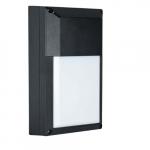 9W LED Wall Pack, 3000K, 900 Lumens