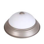 "13W LED 11"" Decorative Ceiling Light, 3000K, Nickle Satin"