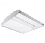 30W 2X2 LED Troffer w/Center Basket, Dimmable, 3500K, 3000 Lumens