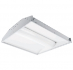 40W 2X4 LED Troffer w/Center Basket, Dimmable, 3500K, 4000 Lumens