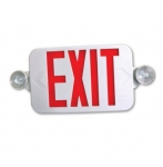 Remote Capable LED Combo Exit/Emergency Sign
