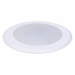 "15W 6"" LED Disk Light, Dimmable, 3000K, 1100 Lumens"