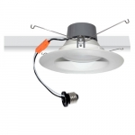 "10W 4"" Recessed LED Retrofit, Dimmable, 3000K, 700 Lumens"