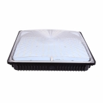 40W LED Square Canopy, Dimmable, 5000K, 8800 Lumens