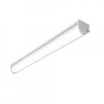 8-ft 54W LED Strip Retrofit, Dim, 7020 lm, 120V-277V, CCT Selectable