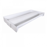 52W 2X4 Recessed LED Direct Indirect, Dimmable, 4000K