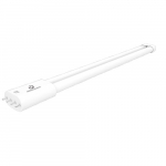 17W 4-Pin LED PLL Tube,2050 lm, Direct Line Voltage, 3000K