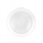6-in 15W LED Disk Light, Dimmable, 1080 lm, 120V, 2700K