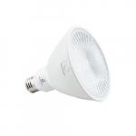 19.5W LED PAR38 Light Bulb, Dimmable, Narrow Beam Angle, 250W Hal Retrofit, 2000lm, 4000K