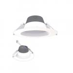 6-in 13W LED Retrofit Downlight, 0-10V Dim, Selectable Lumens, 120V, 2700K, White