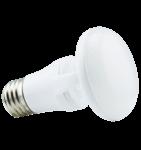 6.5W Titanium LED BR Bulb, 2700K, CLOUD Design, White