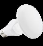 11W Titanium LED BR Bulb, 2700K, CLOUD Design, White