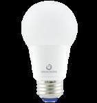 9W A19 Dimmable LED Bulb, 2400K, 300 Deg Beam Angle