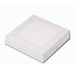20W 9-in Square LED Recessed Can Light, Dimmable, 1250 lm, 4000K