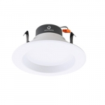 10W 4-in LED Recessed Can Light, Dimmable, 700 lm, 3000K