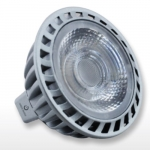 8.5W MR16 LED Bulb, Narrow Flood, GU5.3 Base, Dimmable, 3000K