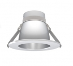 """4"""" LED Downlight Engine & Driver Reflector, Clear White Diffuse"""