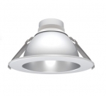 "6"" LED Downlight Engine & Driver Reflector, Clear Diffuse"