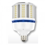 37W LED Corn Bulb for Post Top Lamps, Mogul Base, 3000K