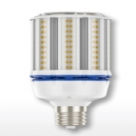 54W LED Corn Bulb for Post Top Lamps, Mogul Base, 3000K