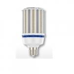 68W LED Corn Bulb, Mogul Base, 5000K