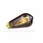 4W Filament LED ST19 Bulb, Dimmable, 300 lm, 2000K