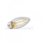 3.3W Filament Candelabra LED B11 Bulb, Dimmable, 300 lm, 2700K