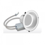 30W 9.5-in Commercial LED Downlight, 0-10V Dimmable, 2760 lm, 4000K, 120-277V