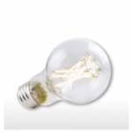 9W Clear A19 LED Filament Bulb, 2700K