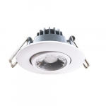 8W 2-in MiniFIT Gimbal LED Recessed Can Light, Dimmable, 600lm, 3000K