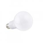 9W LED A19 Bulb, 800 lm, 92 CRI, 2700K, 120-277V