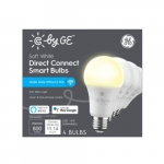 9.5W C by GE LED A19 Smart Bulbs, Dimmable, 800 lm, 2700K