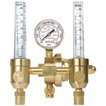 CGA 580 Argon Brass Flow Gauge Regulator