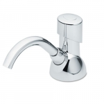 CX Chrome Manual Counter Mount 1500 mL Soap Dispenser