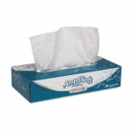 Angel Soft ps Ultra White 2-Ply Premium Facial Tissues Flat Box