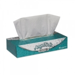 Angel Soft ps White 2-Ply Premium Facial Tissues Flat Box