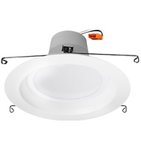 10W 5-in or 6-in LED Recessed Can Light, Dimmable, 700 lm, 3000K