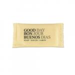 Amenity Bar Soap, Pleasant Scent, 3/4 oz, White, Wrapped