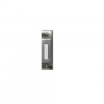 Doorbell Button, Lighted, Push Button, Pewter