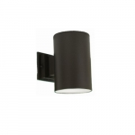 7-in 60W Can Wall Mount, Dark Sky, Small, Textured Black