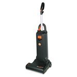 "Insight Bagged Upright Vacuum, 15"" Cleaning Path, 10 A, 20lb, Black"