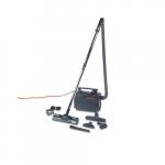 Portapower Vacuum Cleaner, Lightweight, Black, 8.3 lb.