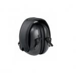 VeriShield® 100 Series Earmuffs, Over-The-Head, 24 NRR, Black