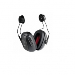 VeriShield® 100 Series Earmuffs, Hard Hat, 21 NRR, Black
