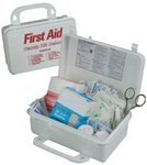 Handy Deluxe First Aid Kits, Plastic